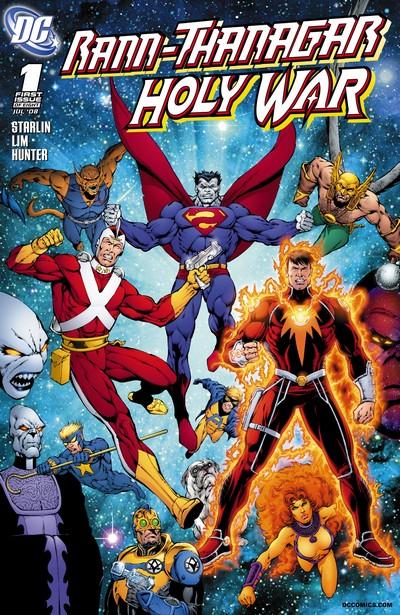 Rann-Thanagar Holy War #1 – 8 (2008-2009)
