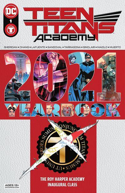 Teen Titans Academy 2021 Yearbook #1 (2021)