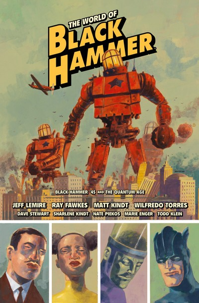 The World of Black Hammer Library Edition Vol. 2 (2020)