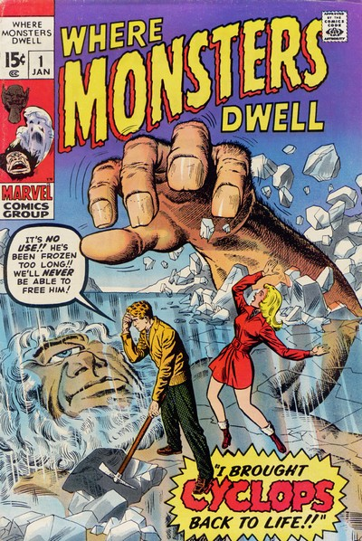 Where Monsters Dwell Vol. 1 #1 – 38 (1970-1975)