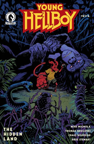Young Hellboy – The Hidden Land #4 (2021)