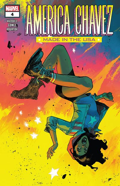 America Chavez – Made In The Usa #4 (2021)