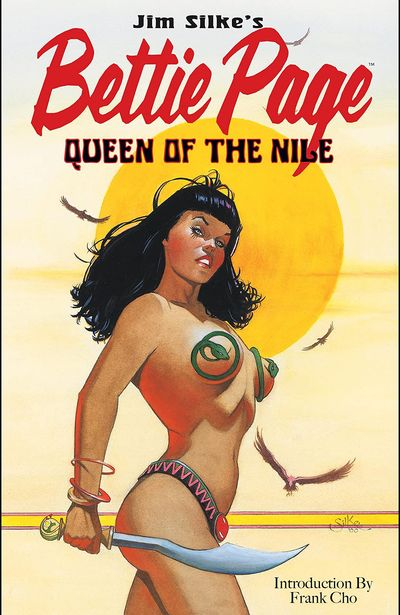 Bettie Page – Queen of the Nile (TPB) (2021)