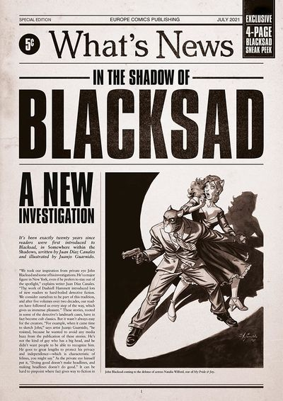 Blacksad – Special Edition – What's News (2021)