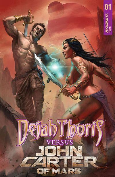 Dejah Thoris vs. John Carter of Mars #1 (2021)