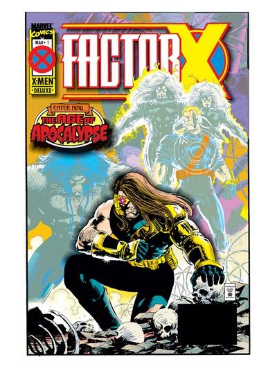 Factor X #1 – 4 (1995)