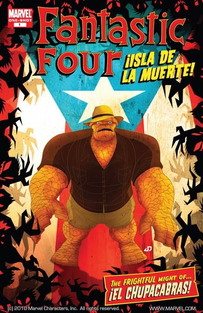 Fantastic Four – Isla De La Muerte! #1 (2007)