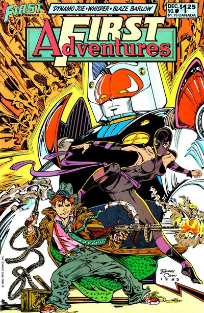 First Adventures #1 – 5 (1985-1986)