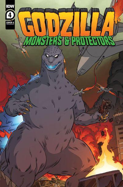 Godzilla – Monsters & Protectors #4 (2021)
