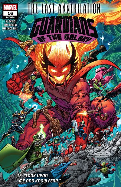 Guardians Of The Galaxy #16 (2021)