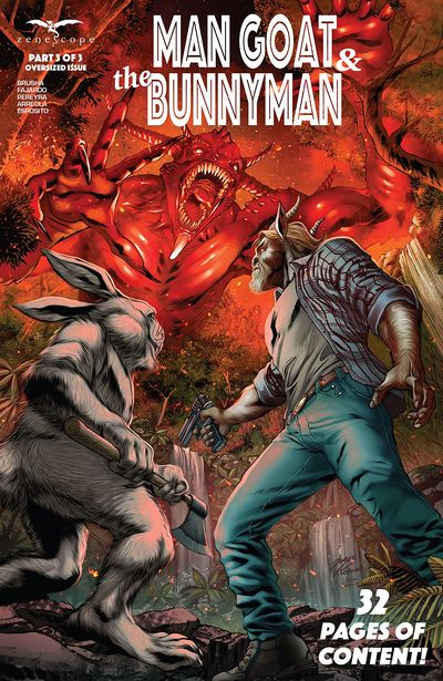 Man Goat and The Bunny Man #3 (2021)