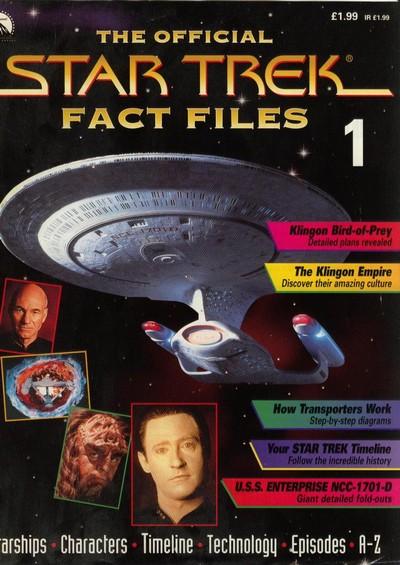 Star Trek Fact Files (1997-2002)