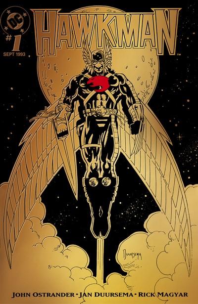 Hawkman Vol. 3 #0 – 33 + Annuals (1993-1996)
