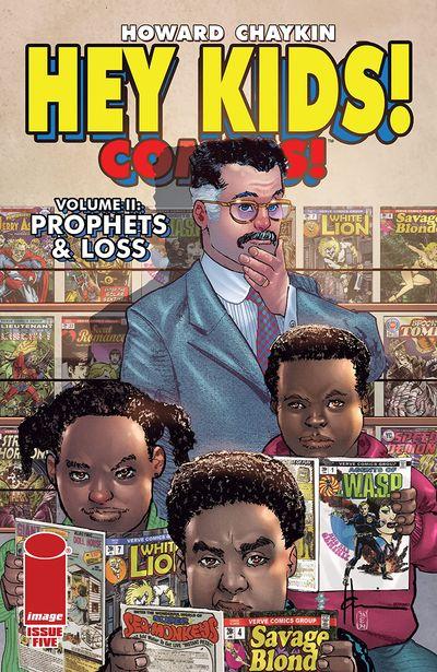 Hey Kids! Comics! Vol. 2 #5 – Prophets & Loss (2021)