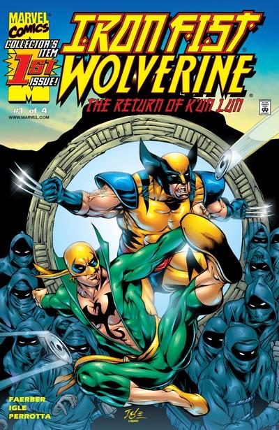 Iron Fist – Wolverine #1 – 4 (2000)