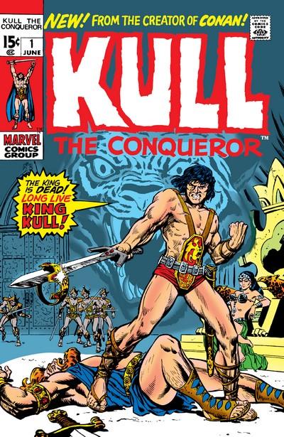 Kull The Conqueror #1 – 10 (1971-1973)