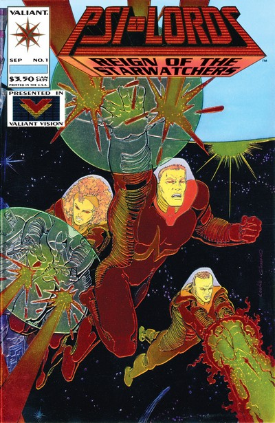 Psi-Lords #1 – 10 (1994-1995)