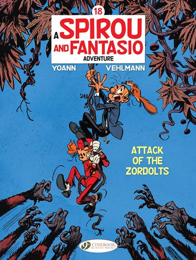 Spirou and Fantasio #18 – Attack of the Zordolts (2021)
