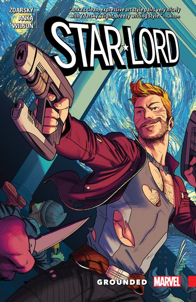 Star-Lord – Grounded (TPB) (2017)