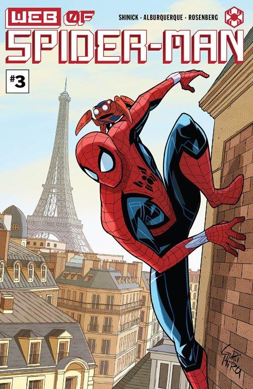 W.E.B. Of Spider-Man #3 (2021)