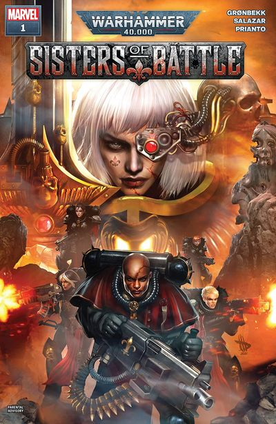 Warhammer 40,000 – Sisters Of Battle #1 (2021)