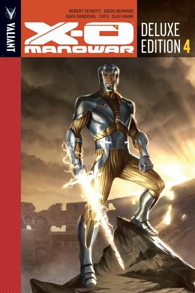 X-O Manowar Deluxe Edition Book 4 (2017)