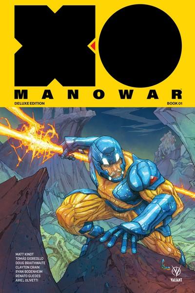 X-O Manowar by Matt Kindt Deluxe Edition Book 1 – 2 (2020)