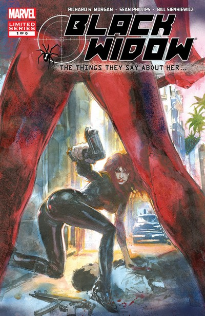 Black Widow – Things They Say About Her #1 – 6 (2006)