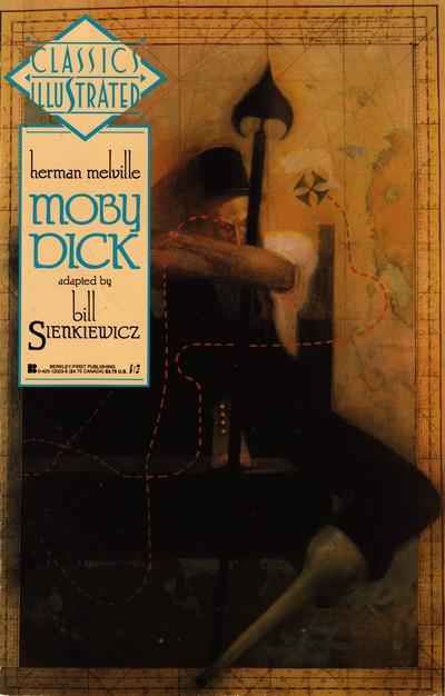 Classics Illustrated Moby Dick – Bill Sienkiewicz (1990)