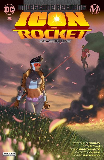 Icon and Rocket – Season One #3 (2021)