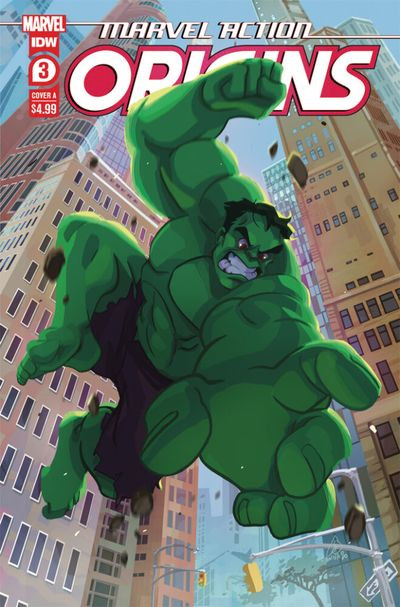Marvel Action – Origins #3 (2021)