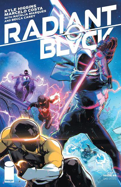 Radiant Black #8 (2021)