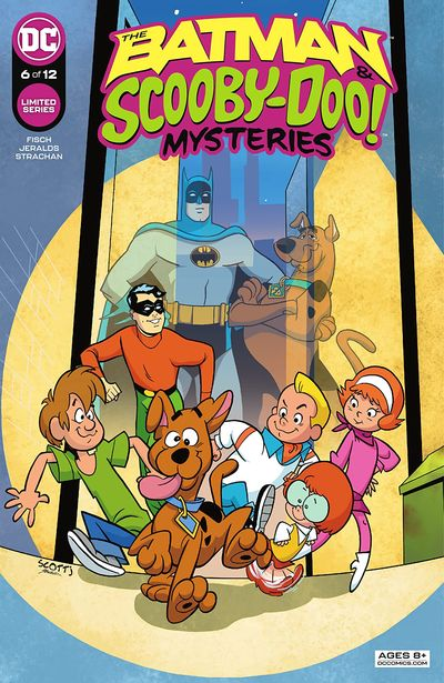 The Batman and Scooby-Doo Mysteries #6 (2021)