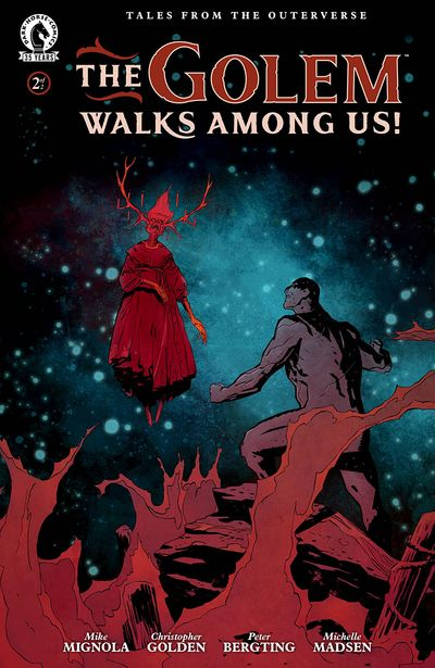 The Golem Walks Among Us! #2 (2021)