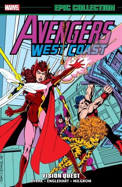 Avengers West Coast Epic Collection Vol. 4 – Vision Quest (2020)