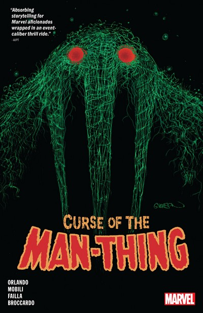 Curse Of The Man-Thing (TPB) (2021)