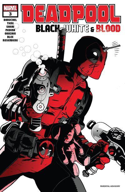 Deadpool – Black, White & Blood #3 (2021)