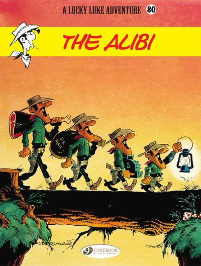 Lucky Luke #80 – The Alibi (2021)