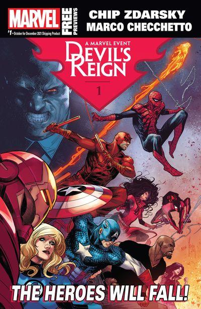 Marvel Previews #1 (October for December 2021)