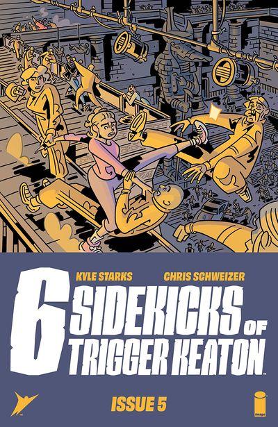 The Six Sidekicks of Trigger Keaton #5 (2021)