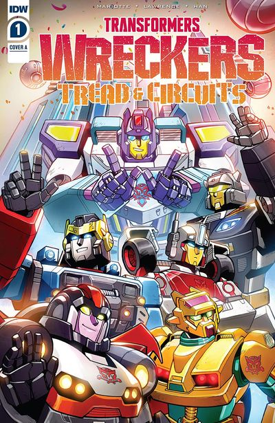 Transformers – Wreckers-Tread and Circuits #1 (2021)