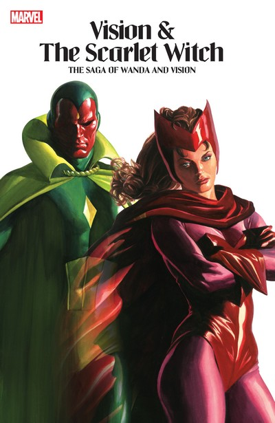 Vision And The Scarlet Witch – The Saga Of Wanda and Vision (2021) (Omnibus)