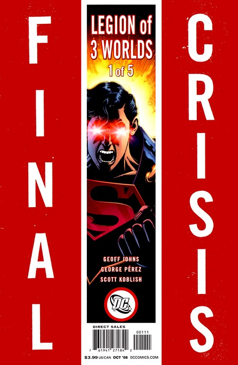 Final Crisis – Legion of Three Worlds #1 – 5 Free Download
