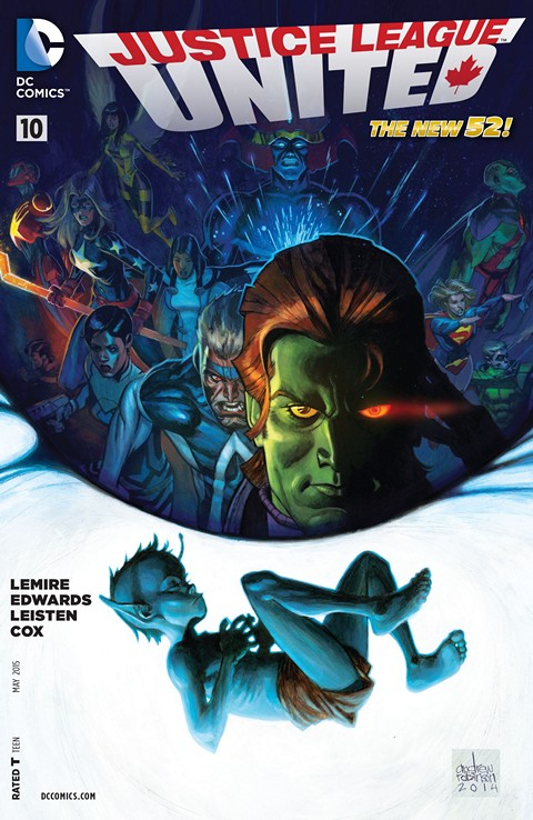 Justice League United #10 Free Download
