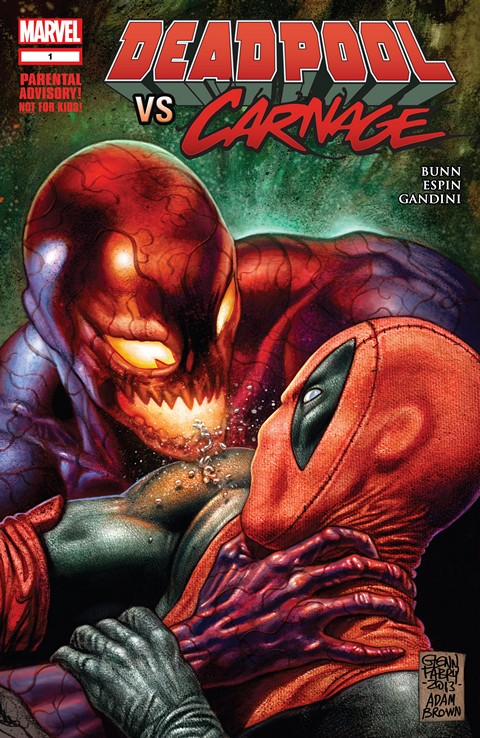 Deadpool Vs Carnage #1 – 4