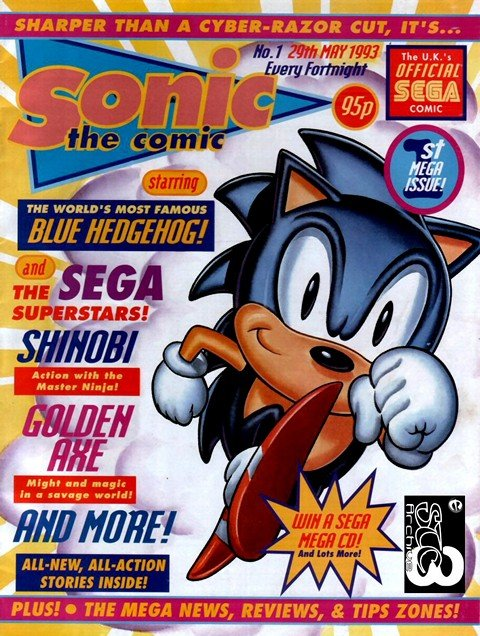 Sonic The Comic #1 – 223 + Specials