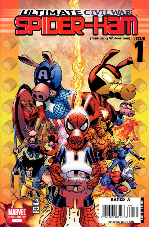 Ultimate Civil War – Spider-Ham #1