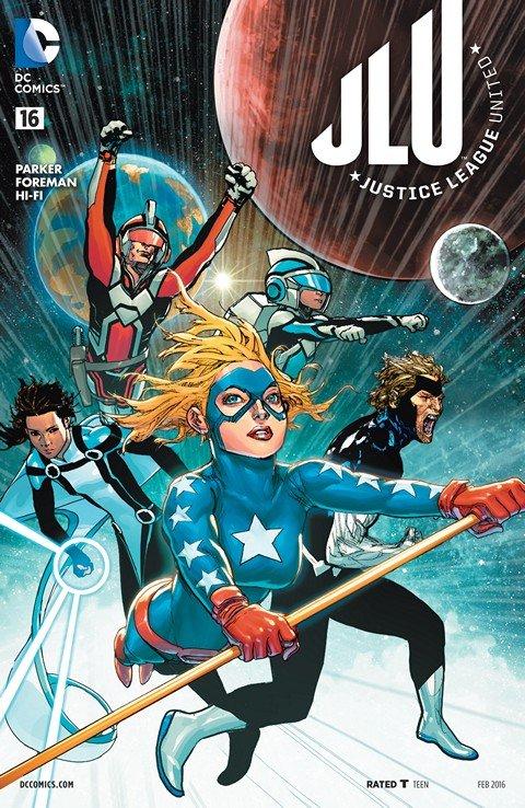 Justice League United #16