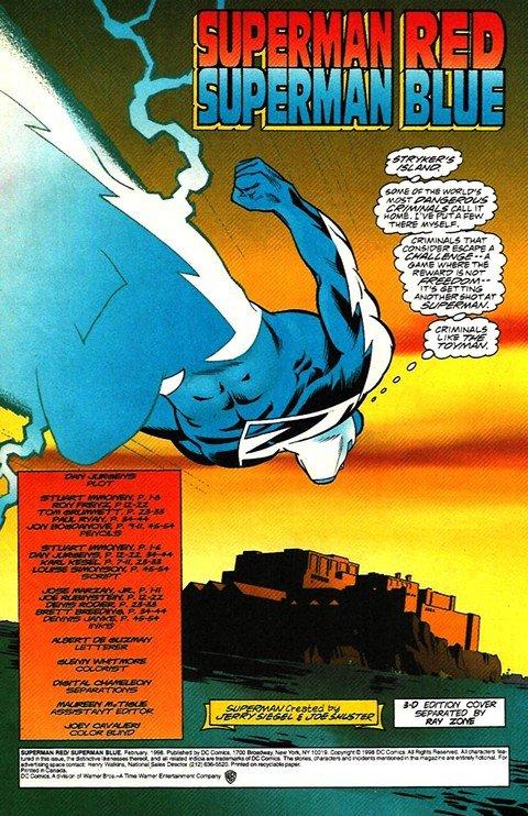 Superman Red – Superman Blue