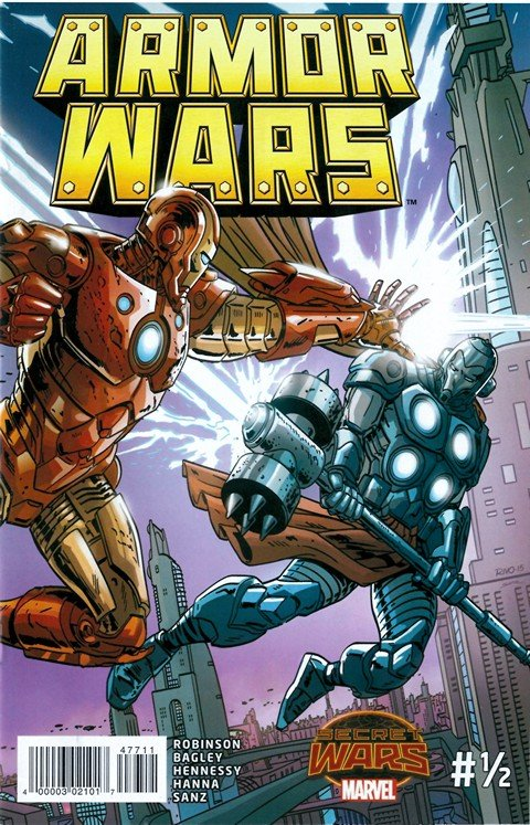 Armor Wars #0.5 (Toys 'R' Us Giveaway)